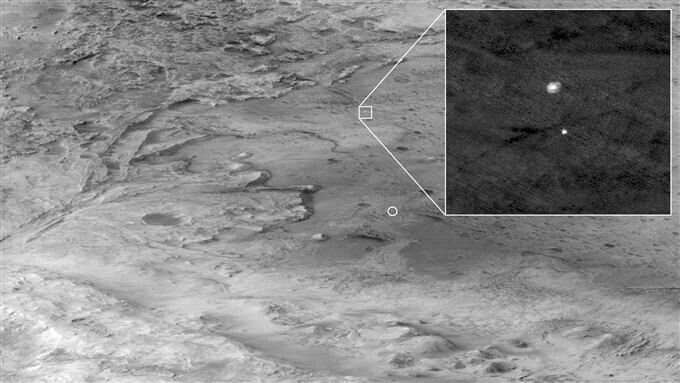 NASA's Mars mission Perseverance rover lands on Mars, images