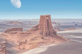 As you walk in a hot pot: Desert rain Lot