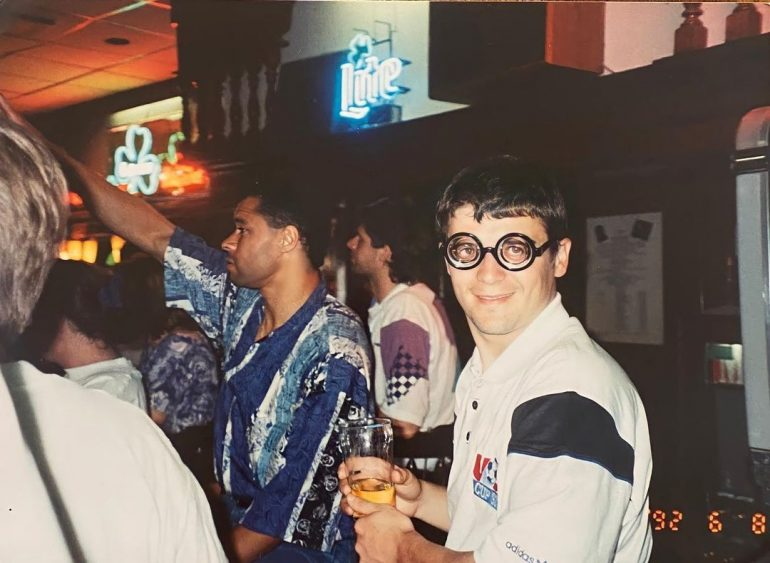 In 1992, Royal Keane posted a hilarious photo on Instagram of a trip to the Republic of Ireland in the United States.
