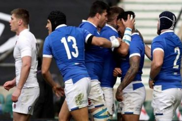 Rugby: Italy - Ireland Oval Crossroads