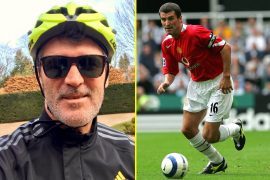 Manchester United legend Roy Keane told his Instagram followers, 'Break me if you see me wearing Lycra'.