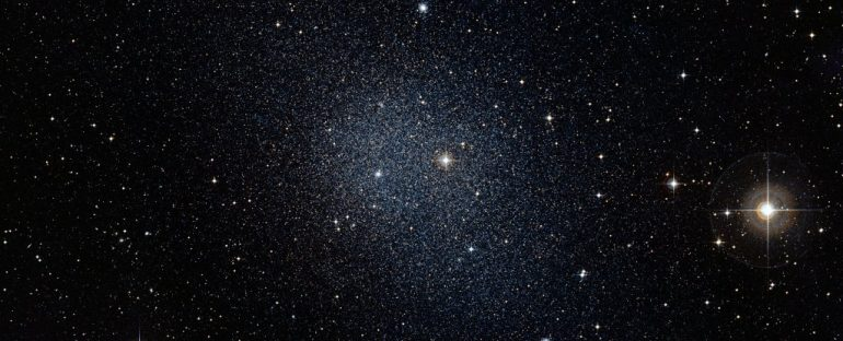 Astronomers have discovered a small dwarf galaxy with darker matter than we expected.