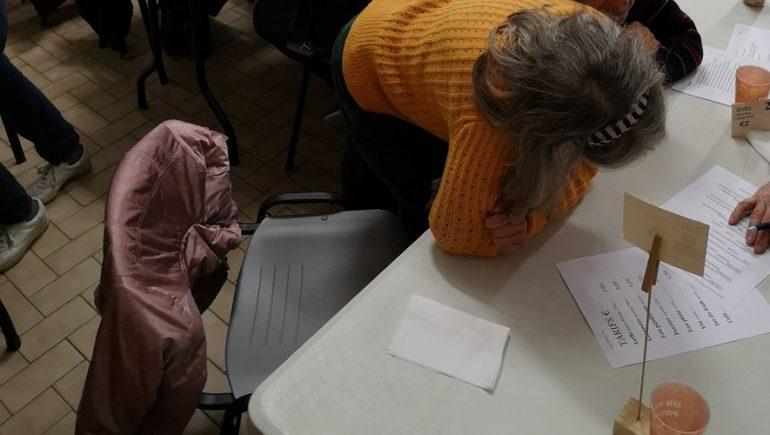 Celtic Nueva at a public meeting in Periac-de-Mer