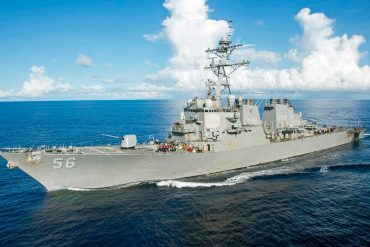 Chinese government orders US warship to leave Chinese waters;  Pentagon denies    The world