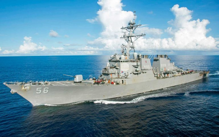 Chinese government orders US warship to leave Chinese waters;  Pentagon denies |  The world