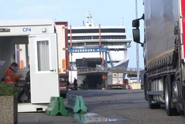 Freight traffic between France and Ireland has tripled