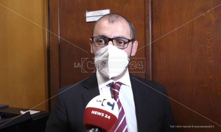 L'assessore comunale Luca Bossi