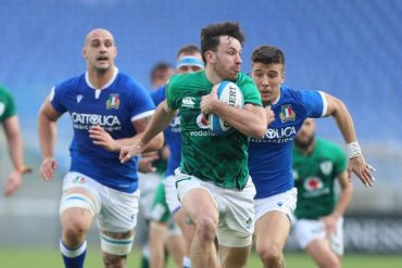 Ireland deny Italy's first victory in 2021 tournament
