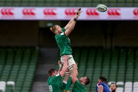 Irish Rugby |  Henderson leads the way as Ireland prepares for the Italian job
