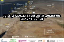 Jordan Weather and Expected Temperature 19-2-2021 Friday |  Arabian climate