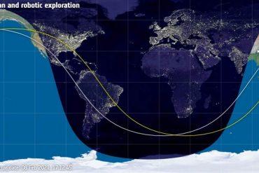Live: Observe the International Space Station from Veracruz
