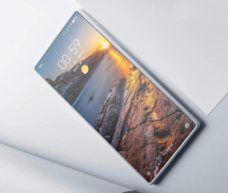 Quality images of Xiaomi Mi Mix 4 with sub-screen camera