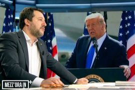 Salvini's ally Donald Trump nominated for Nobel Peace Prize