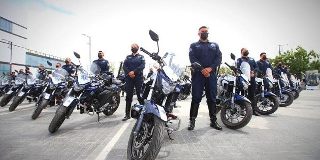 Security in Jalisco: 40 motorcycles handed over to Sopopan police