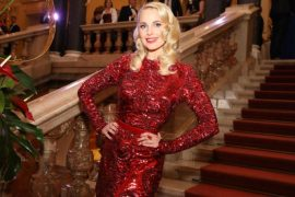 TV star Sylvia Schneider shot a music video at Palace Linz