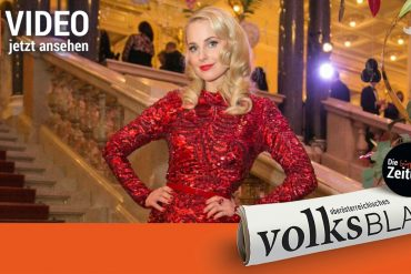 TV star Sylvia Schneider shot a music video in Palais