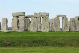 The gigantic rocks at Stonehenge would move miles in ancient times
