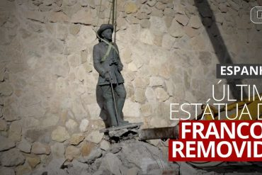 The last statue of Franco was removed on Spain's historic day  The world