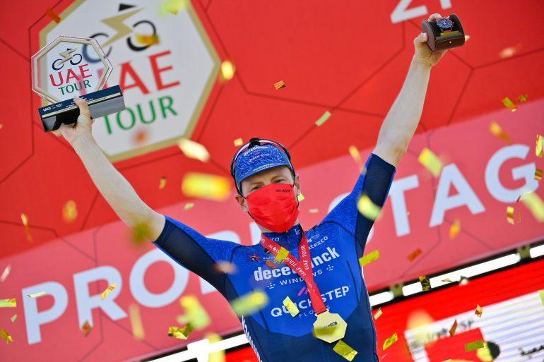 UAE Tour: Sam Bennett reaches fourth stage