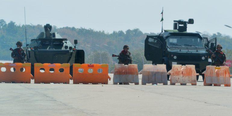 Why did the army overthrow Aung San Suu Kyi?