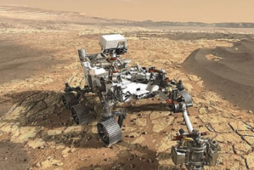 Watch pictures and video .. Permanent spacecraft 7 minutes terror on the surface of Mars |  Variety from around the world |  Saraya News Agency
