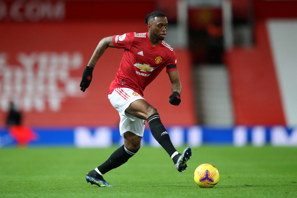 Van-Bisaka is one of the first names on Manchester United's squad sheet