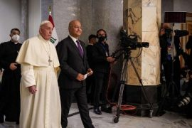 In Baghdad, Pope Francis advocates for religious, ethnic and cultural pluralism