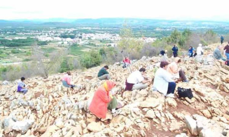 Medjugorje Hill to the top