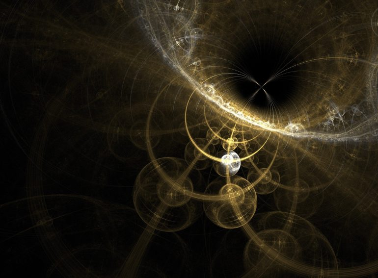 The black hole developed in the laboratory confirmed a theory predicted by Stephen Hawking in 1974.