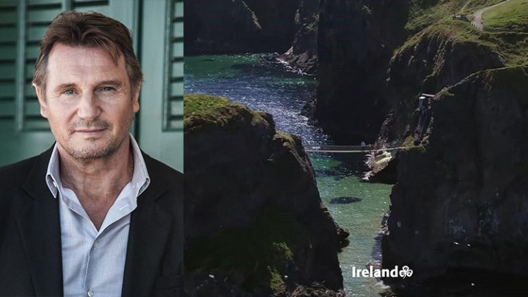 Liam Neeson joins Tourism Ireland to wish the world St. Patrick's Day