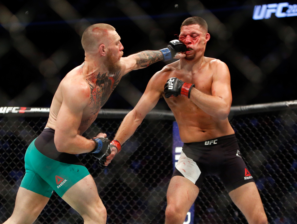 The second fight was a classic of the ages - McGregor defeated his opponent after retirement