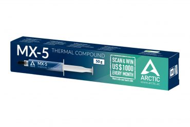 ARCTIC MX-5 thermal compound with carbon microparticles