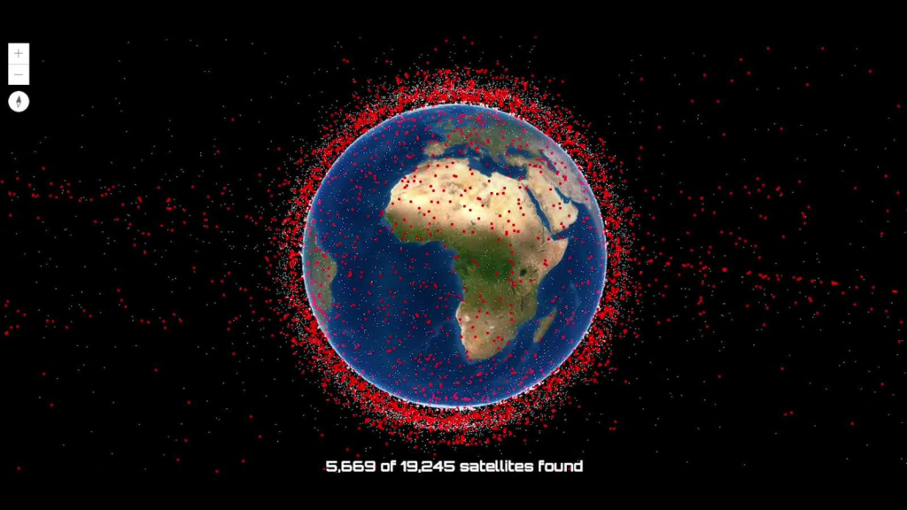 Mission began to clear space debris