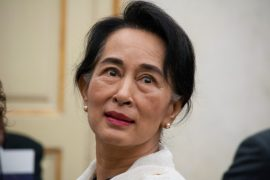 Lady, Aung San Suu Kyi must be protected.  History of Michael Scarbunchi