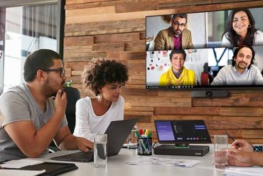Lenovo ThinkSmart Hub and ThinkSmart Vision - Collaborative activity