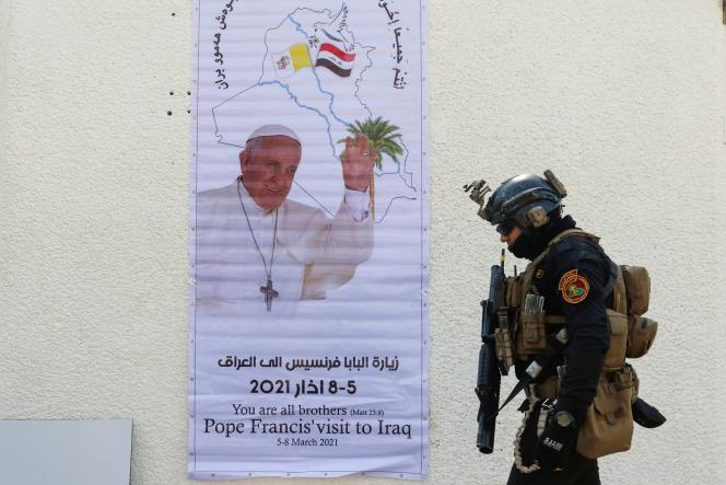 Pope Francis is scheduled to celebrate en masse at a stadium in Baghdad on Friday and in Erbil on Sunday.