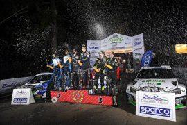 CIR21.  Super Rally Il Ciocco.  Newville, Hyundai, Albertini, Skoda