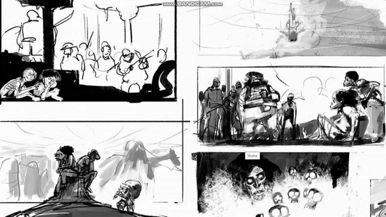Cartoon movie, a virtual 2021 edition