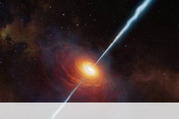 Discovered the brightest object in the universe - powered by black holes
