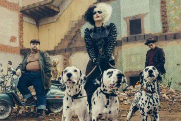"""Emma Stone slips into the role of the villain in the new movie """"Cruella"""""""