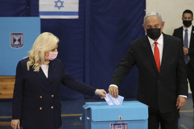 First Netanyahu but he needs Yamina