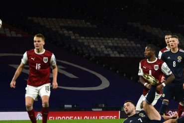 Football: Austria beat Scotland 2-2 in World Cup qualifiers