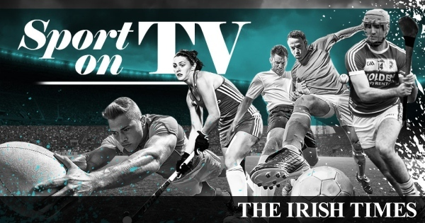 Here is your handy guide to sports on TV this week