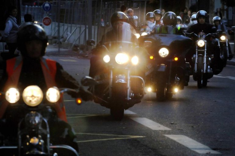 Home vs. Mandatory technical control of motorcycles in France