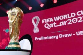 O cenário do sorteio das eliminatórias da UEFA