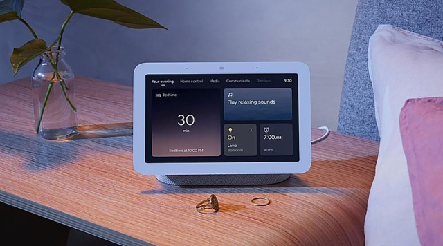 Nest Hub .. A new home device from Google to monitor your sleep - technology