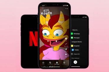 Netflix follows the tick tock format