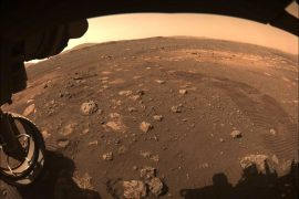 Perseverance made the first scratch on Mars.  It looks great