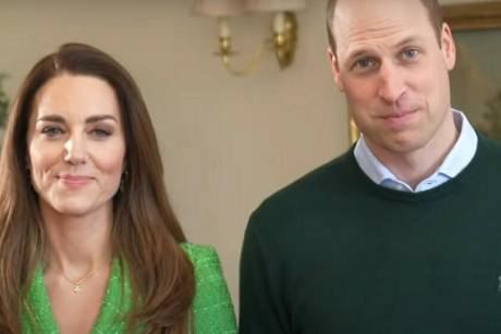 Prince William and Duchess Kate greet them on St. Patrick's Day