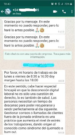 Screenshot of a WhatsApp conversation.